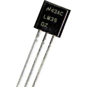 سنسور دما LM35