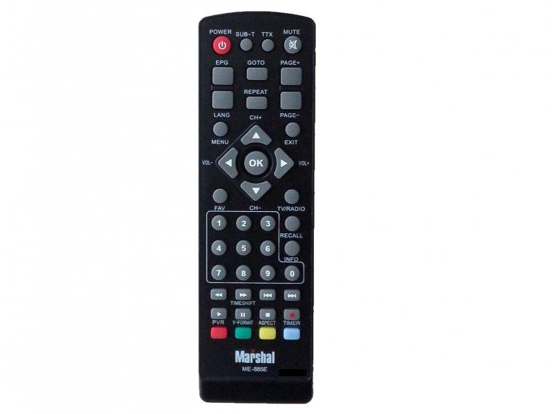 کنترل گیرنده دیجیتال مارشال ME-885 E