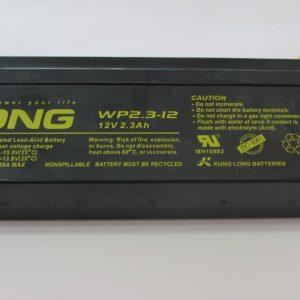 باتری خشک 12 ولت - 2.3 آمپر