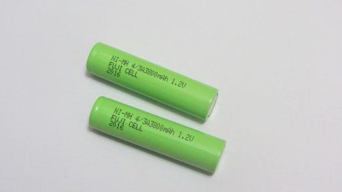 باتری لیتیومی 1.2 ولت 3800 میلی آمپر 7/5A