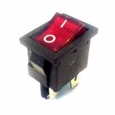 کلید راکر چراغدار چهار پایه - قرمز رنگ