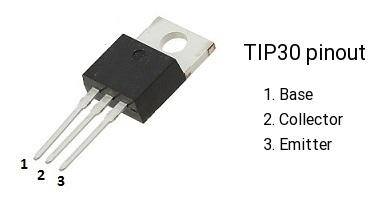 ترانزیستور TIP30C PNP