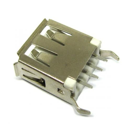 کانکتور مادگی USB مدل A صاف