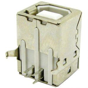 کانکتور مادگی پرینتری USB مدل B رایت