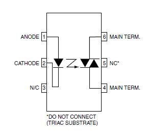 اپتوکوپلر MOC3023