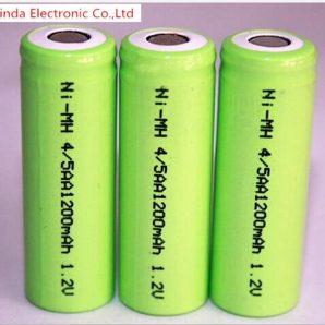 باتری لیتیومی 1.2 ولت 1200 میلی آمپر 4.5AA