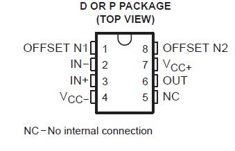 آی سی تقویت کننده (آپ امپ) OP07GP