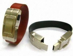 فلش مموری های دستبند چرمی2
