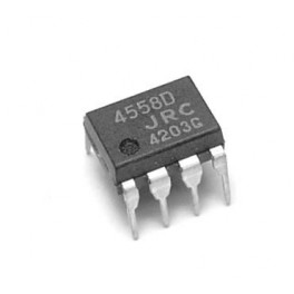 آی سی آمپلی فایر(تقویت کننده) 4558