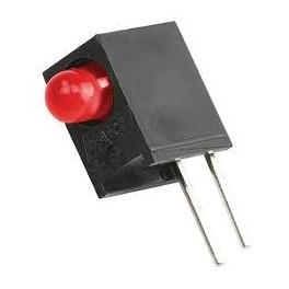 LED قابدار تکی قرمز ر ایت 3mm