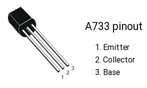 ترانزیستور A733 PNP