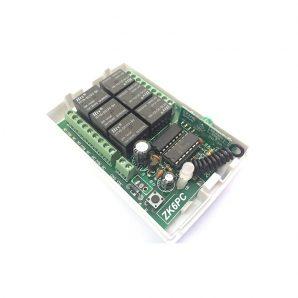 با استفاده از ماژول گیرنده و یک ریموت فرستنده میتوان هر انواع وسایل الکتریکی را کنترل کرد.