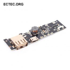 ماژول شارژر و دشارژ باتری لیتیومی 3.7 ولت 2 آمپر