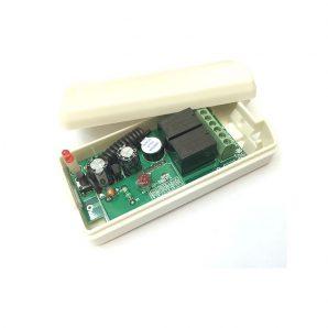 گیرنده دو کانال رادیویی 315 MHz دوازده ولت (12vdc)