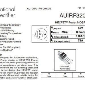 ترانزیستور ماسفت IRF3205 NChannel