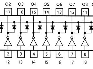 درایور 8 کاناله ULN2803APG