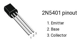 2n5401-pinout-ECTEC.IR