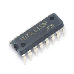 آی سی مولتی پلکسر 74153