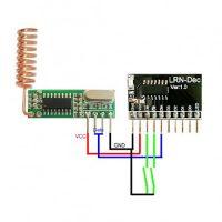 ماژول سازگار با فرکانس های 315Mhz / 433Mhz