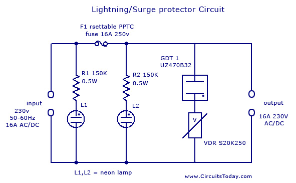 Lighting-Protector-Circuit