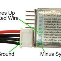ماژول نمایشگر و کنترل ولتاژ باطری 1 تا 8 سل