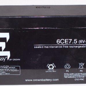 باتری خشک 6 ولت 7.5 آمپر