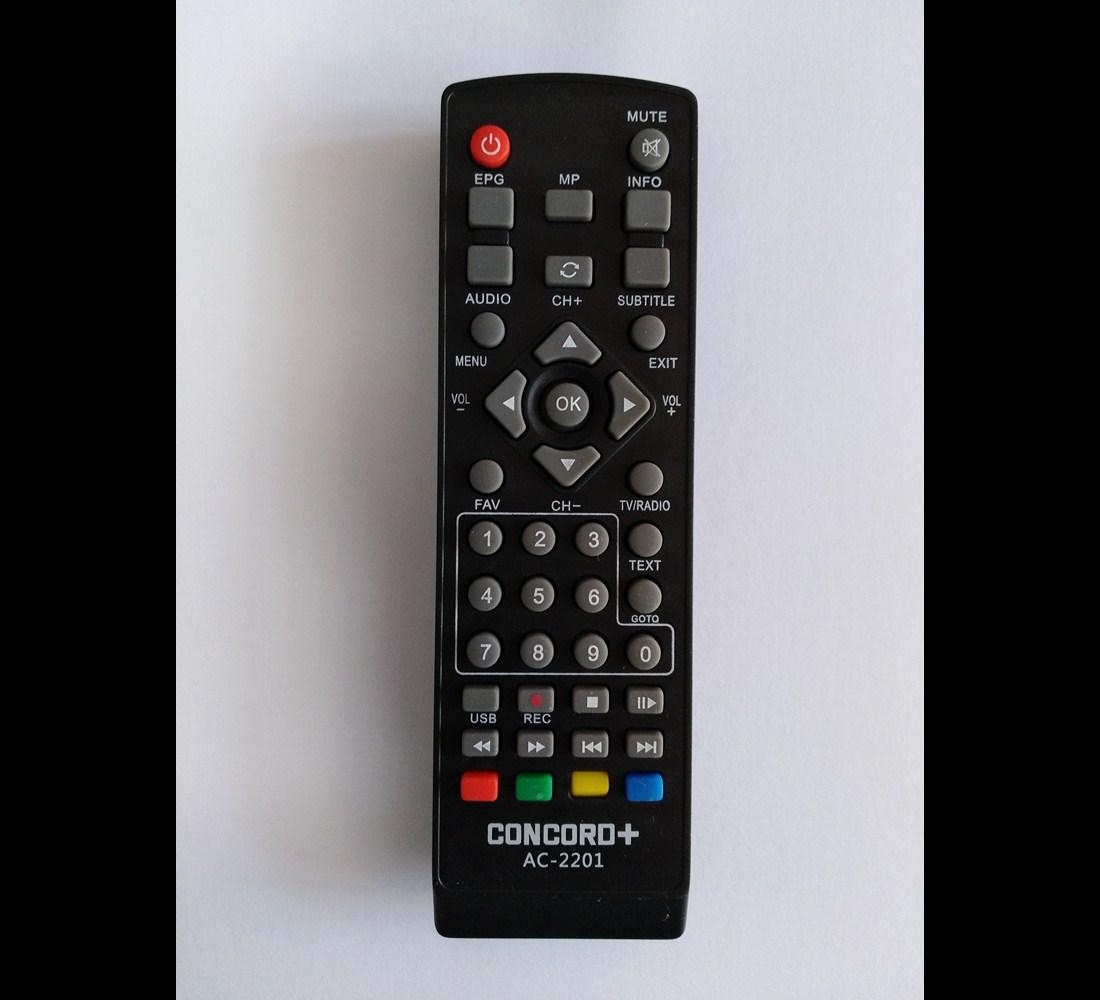 کنترل گیرنده دیجیتال کنکورد