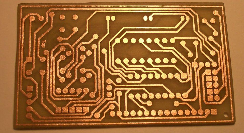 چاپ مدار چاپی یا PCB با لیزر
