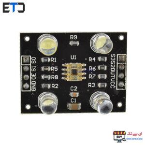 ماژول و سنسور تشخیص رنگ TCS230