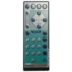 کنترل پخش جی وی سی تخت JVC