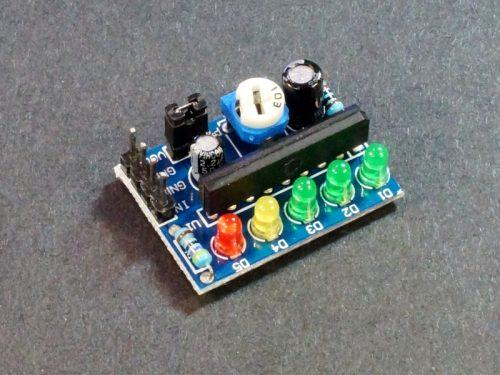 ماژول نمایشگر درصد شارژ باتری ka2284