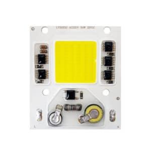 ال ای دی سفید مهتابی 220 ولت 50 وات COB سنسور دار مربعی