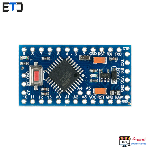 برد آردوینو پرو مینی Arduino Pro Mini با ولتاژ 5V