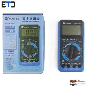 مولتی متر دیجیتال سانشاین Sunshine DT-9205E