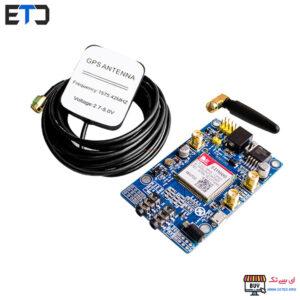 ماژول مخابراتی SIM808 دارای GPS و GSM و بلوتوث