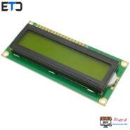 نمایشگر ال سی دی کاراکتری بک لایت سبز LCD 2x16