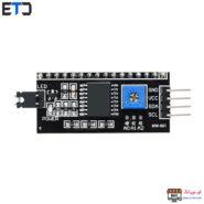 ماژول راه انداز و درایور LCD 2×16 با ارتباط I2C