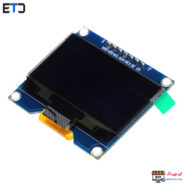 نمایشگر OLED 1.54 INCH SPI سفید رزولیشن 128X64