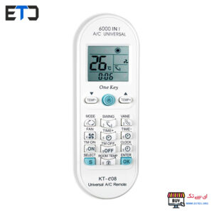 کنترل کولر گازی 6000 مدل چند کاره مادر KT-e08