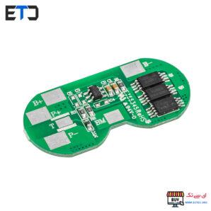 ماژول کنترل شارژ و بالانسر باتری لیتیومی دو سل 8 آمپر 2S-8A