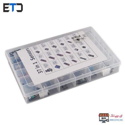 پک 37 عددی ماژول های کاربردی آردوینو Arduino 37 in 1 Kit