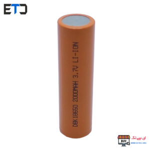 باتری لیتیوم یون 18650 سرتخت 2000 میلی آمپر DBK