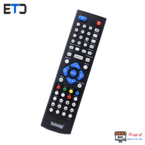 ریموت کنترل گیرنده دیجیتال و دی وی دی پلیر تکنوتل Technotel
